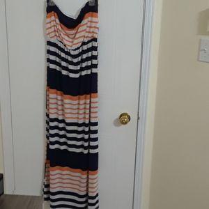 3/22$ Pinkblush Maternity tube summer dress